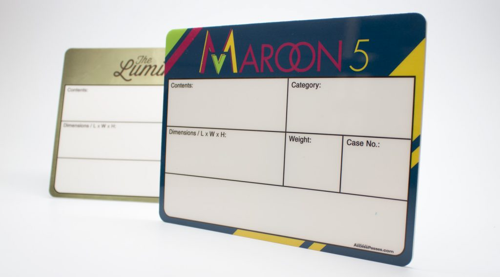 Maroon 5 Case Label